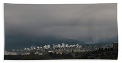 Beach Towel featuring the photograph North Vancouver  by Juan Contreras