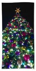 O Christmas Tree Beach Sheet