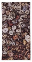 Pieces Of Time Beach Towel