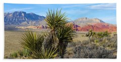 Red Rock Canyon National Conservation Area Beach Towel