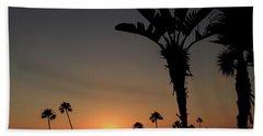 San Clemente Sunset Beach Towel