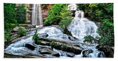Sc Twin Falls Beach Towel