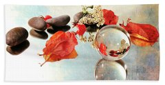 Beach Sheet featuring the photograph Seasons In A Bubble by Randi Grace Nilsberg