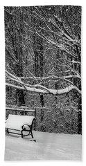 Snow Day Beach Sheet