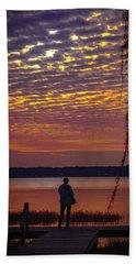 Starke Sunset Beach Towel