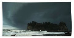 Storm Is Coming Beach Towel