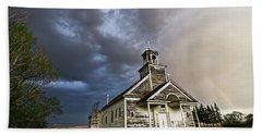Stormy Sk Church Beach Sheet
