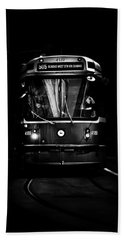 The 505 Dundas Streetcar Toronto Canada Beach Sheet