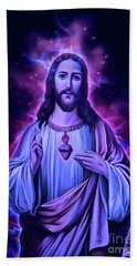 The Lord Is With You Beach Towel
