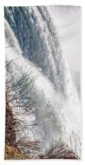The Mighty Niagara Falls Beach Towel