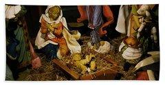 The Nativity Beach Towel