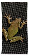 Tree Frog Beach Towel