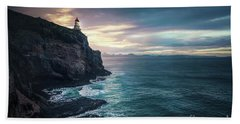 Twilight Symphony Beach Towel