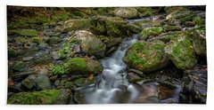 Beach Towel featuring the photograph Vaughan Brook by Rick Berk