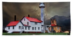 Whitefish Point Lighthouse Beach Towel