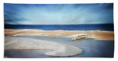 Whitefish Point Michigan Beach Towel