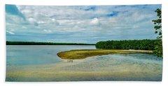 Wildlife Refuge On Sanibel Island Beach Towel