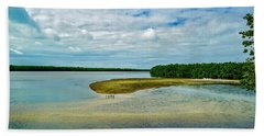 Wildlife Refuge On Sanibel Island Beach Towel