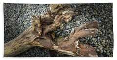 Beach Towel featuring the photograph Wood Log In Nature No.39 by Juan Contreras