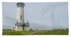 Yaquina Head Lighthouse Beach Towel