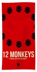 12 Monkeys Beach Towel
