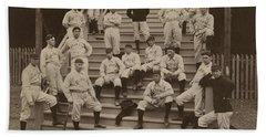 1899 St  Louis Cardinals Baseball  Mlb  Antique Team Photo Beach Towel