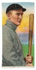 1909 11 T206 Sweet Caporal Ty Cobb  Bat Off Shoulder  Beach Towel