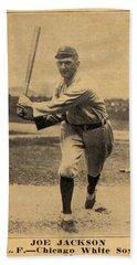 1916 Famous   Barr Joe Jackson Beach Towel