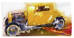 1932 Ford Hotrod Beach Sheet