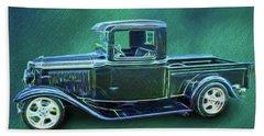 1934 Ford Pickup Beach Towel