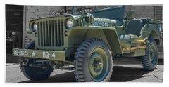 1942 Willys Gpw Beach Towel