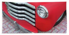 1947 Ford Super Deluxe 8 Coupe 002 Beach Towel
