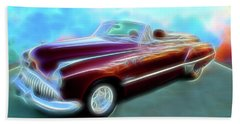1949  Buick Convertable Beach Towel