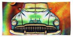 1949  Buick Headon Beach Towel