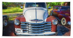 1949 Chevrolet 3100 Series Panel Truck 301 Beach Towel