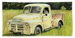 1949 Dodge B1 Beach Towel