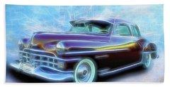 1950 Chrysler Beach Towel