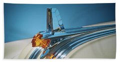 1953 Pontiac Hood Ornament Beach Towel