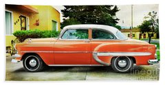 1954 Belair Chevrolet 2 Beach Towel