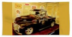 1955 Chevy Truck Beach Towel