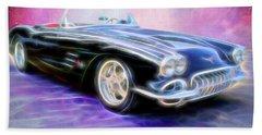 1958 Chevrolet Corvette Beach Sheet