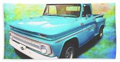 1965 Chevy Truck Beach Towel