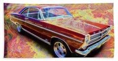 1966 Ford Fairlane Beach Towel