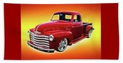 19948 Chevy Truck Beach Towel