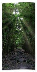 A Path Less Traveled Beach Towel