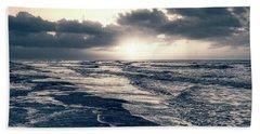 Atlantic Ocean Sunrise Beach Towel