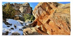 Colorful Colorado National Monument Beach Sheet