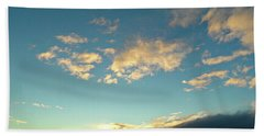 Colossal Country Clouds Beach Towel