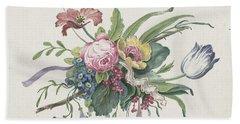 Flower Arrangement, Catharina Wilhelmina Schweickhardt, 1809 Beach Towel