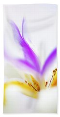 Beach Towel featuring the photograph White Iris II by John Rodrigues